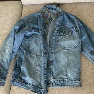 Vintage Pelle Pelle Blue Jean Jacket Button Up